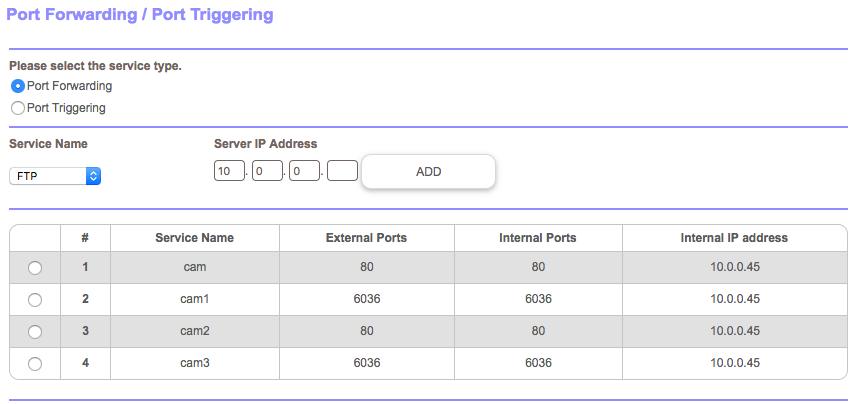 Port Forwarding for Cameras behind ATT Router in I