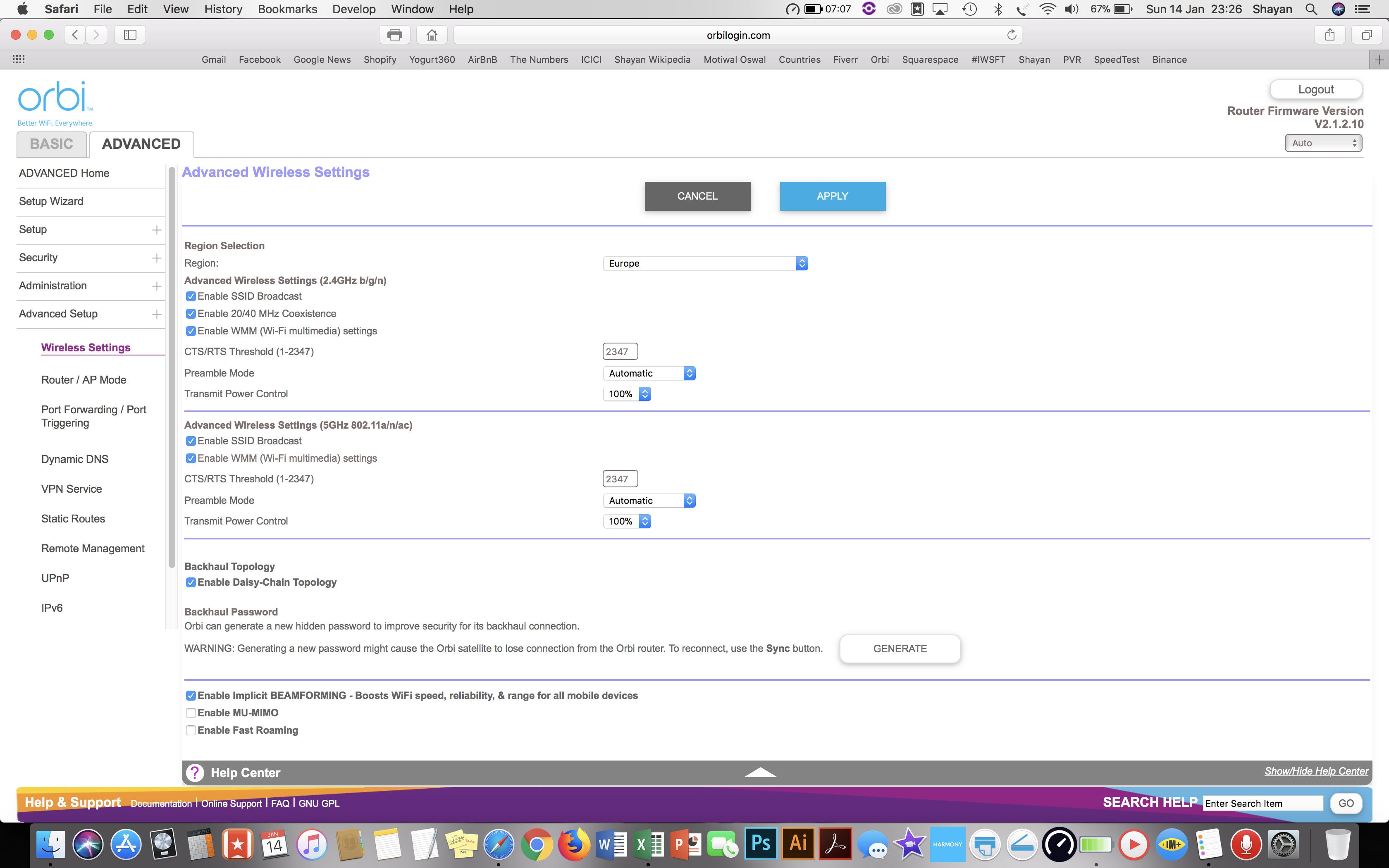 Solved: Upload speeds very slow on Orbi via Wifi - On ethe