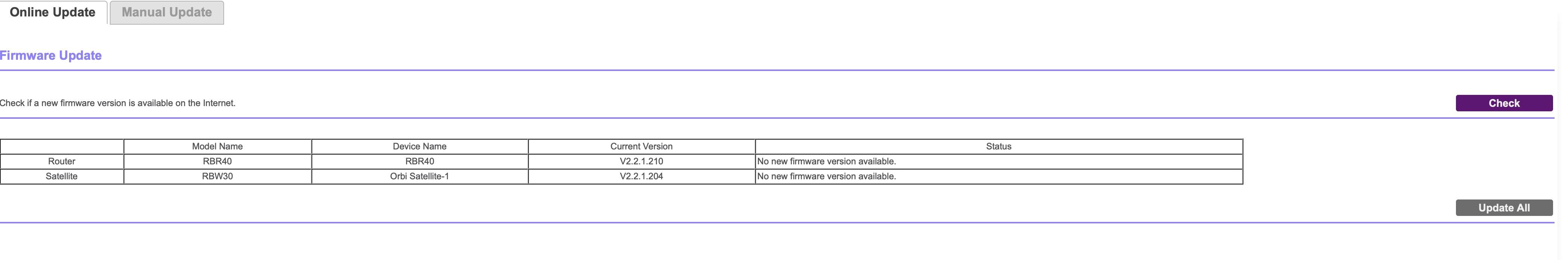 Solved: RBW30 - Firmware 2 3 0 4 - NETGEAR Communities