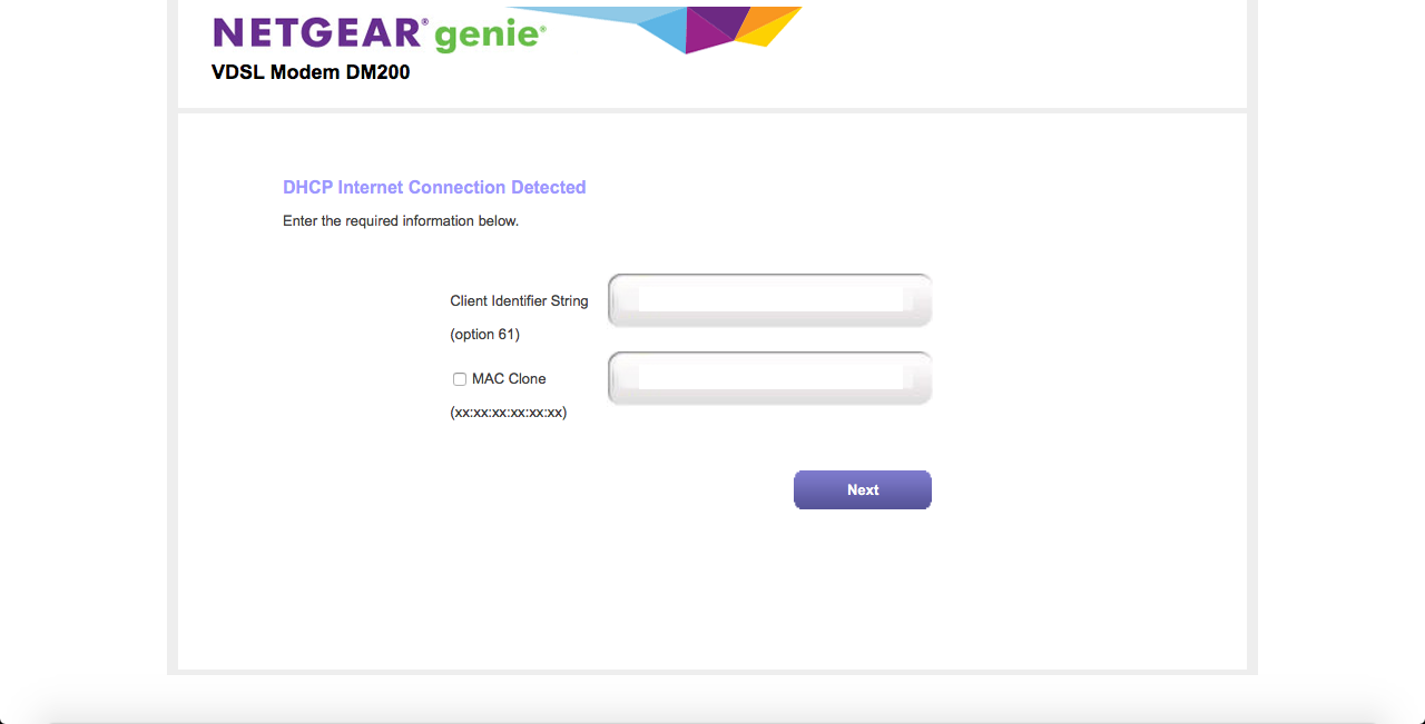 What is Client Identifier String (Option 61) - NETGEAR