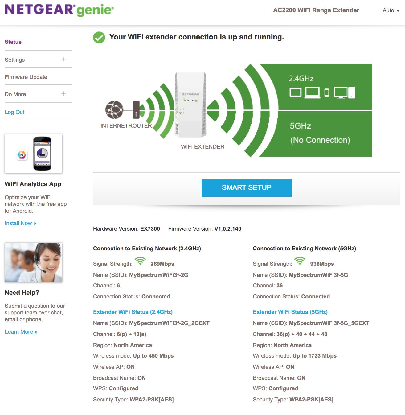 EX3700 connected but no internet - NETGEAR Communities