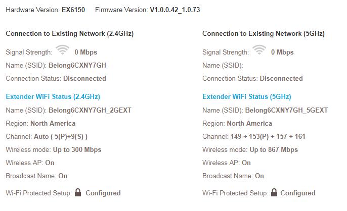 ac1200 wifi range extender firmware upgrade
