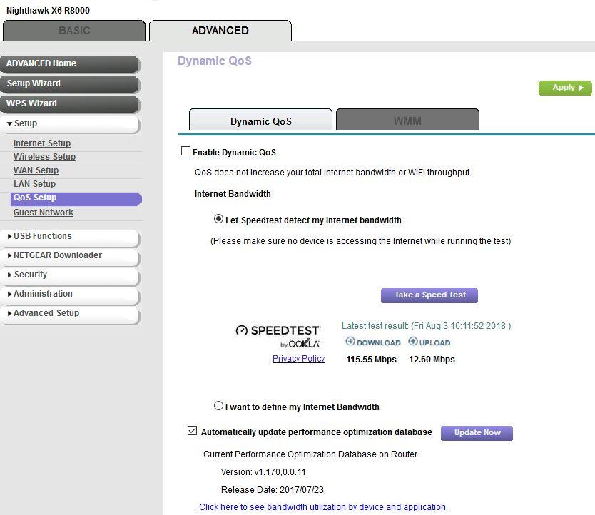 Solved: R7000 not doing gigabit ethernet speeds - NETGEAR
