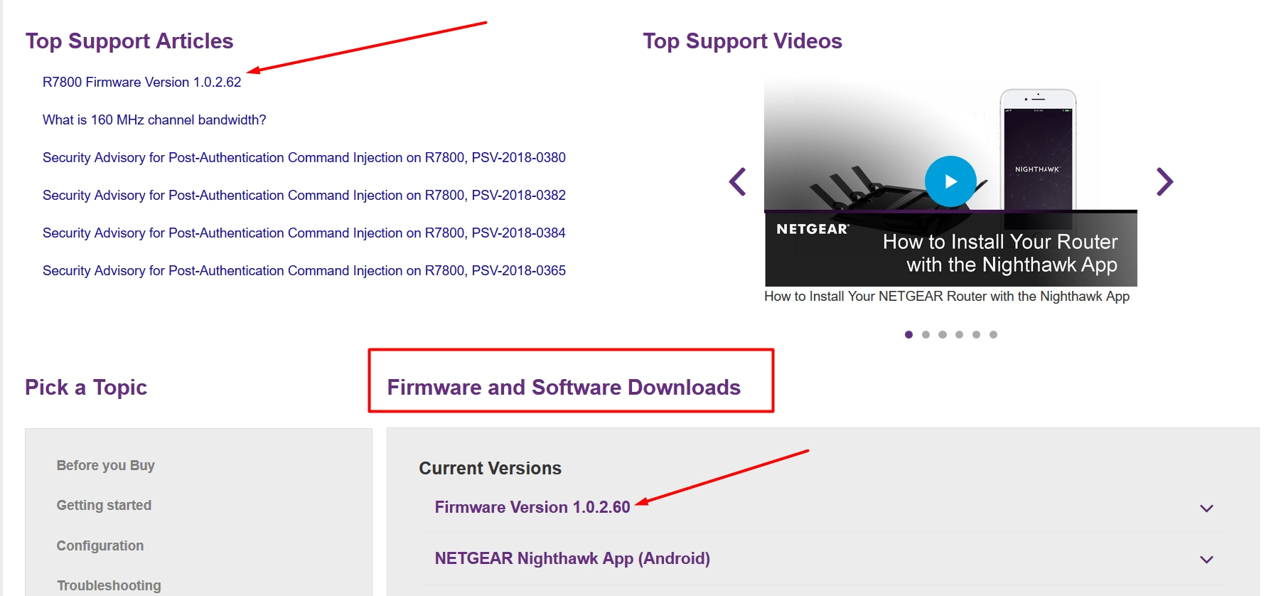 R7800 Latest Firmware Issue - DO NOT UPDATE TO V1     - NETGEAR