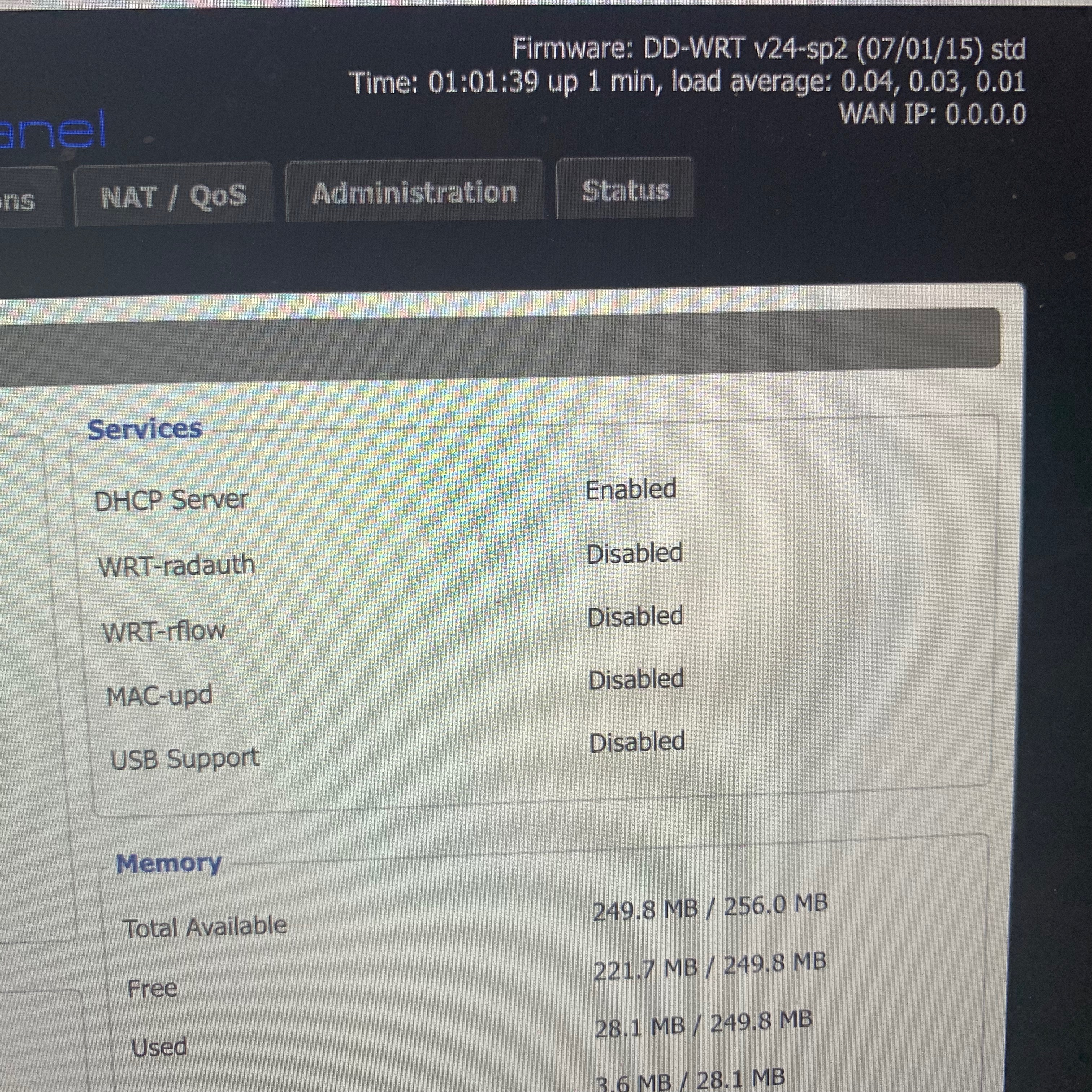 Solved: Netgear R7000 AC1900 with DD-WRT build 27261 not a