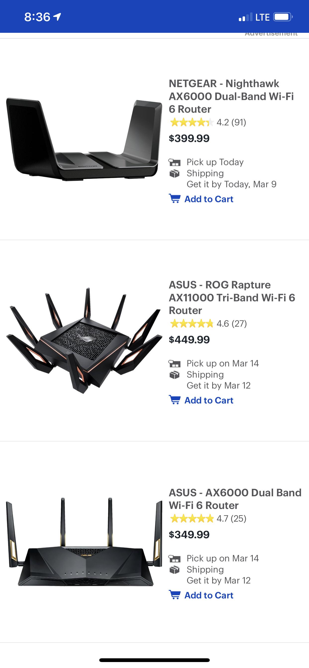 Re: Nighthawk AX vs Orbi Mesh Wifi 6 - NETGEAR Communities