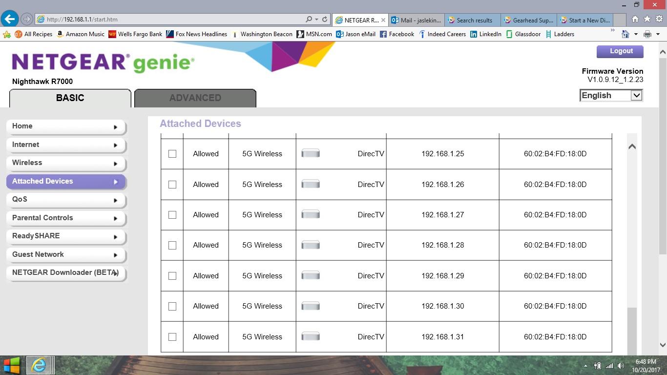 R7000 multiple ip address - NETGEAR Communities