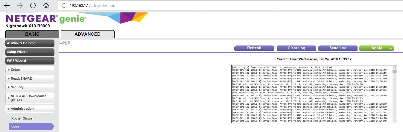 X10 r9000 ethernet problems - NETGEAR Communities