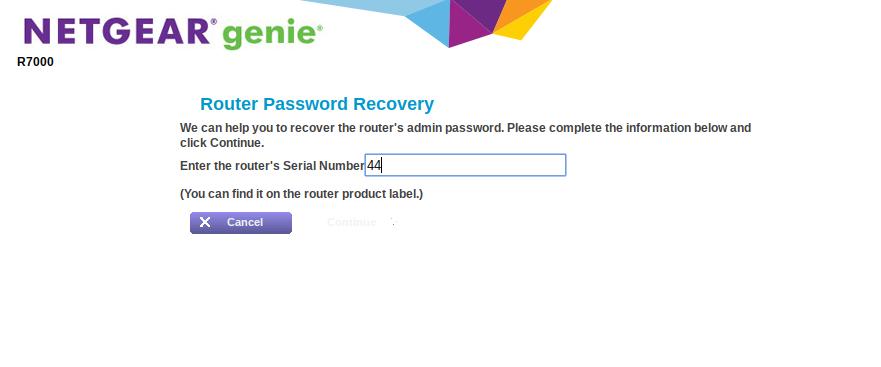 Solved: Admin password - NETGEAR Communities