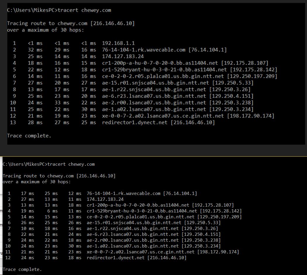 NightHawk R7000 certain websites not working - NETGEAR