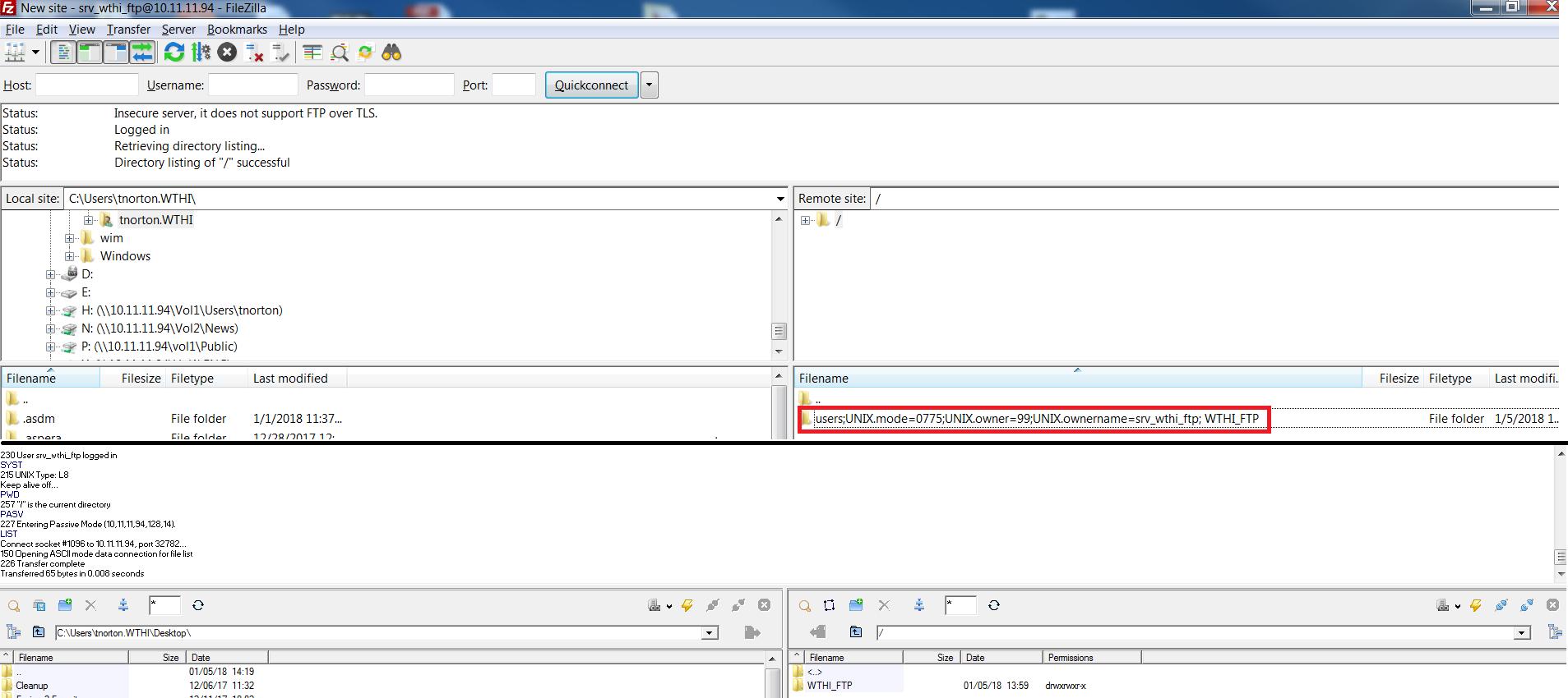 FTP Issue with Filezilla/WinSCP - NETGEAR Communities