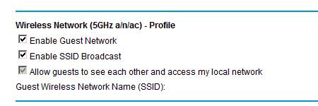 guest ssid access