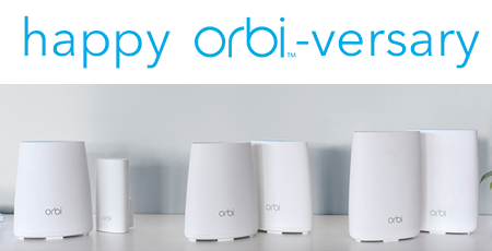 Orbi WiFi Systems - RBK30, RBK40 & RBK50 - Better WiFi Everywhere