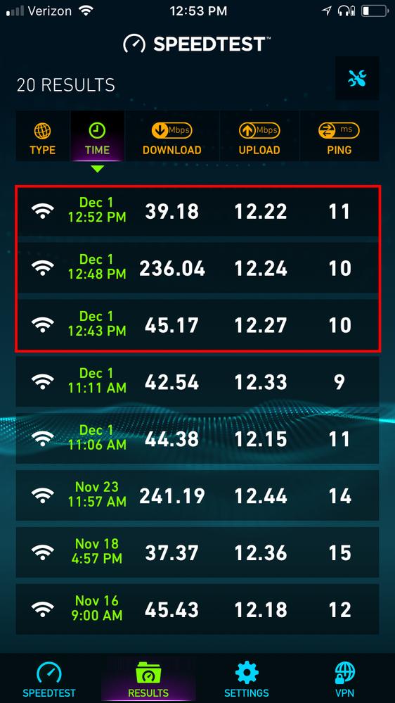 netgear r7000 slow wifi speeds after firmware update