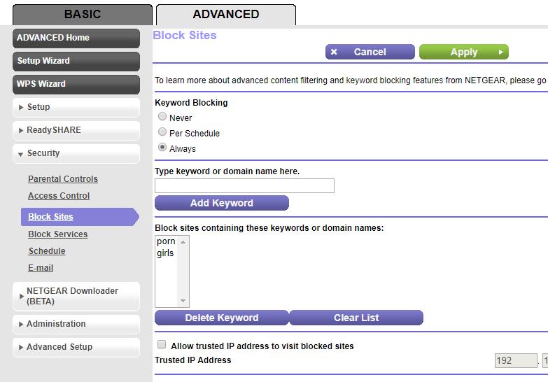 Netgear - Security - Block Sites - Keywords.PNG
