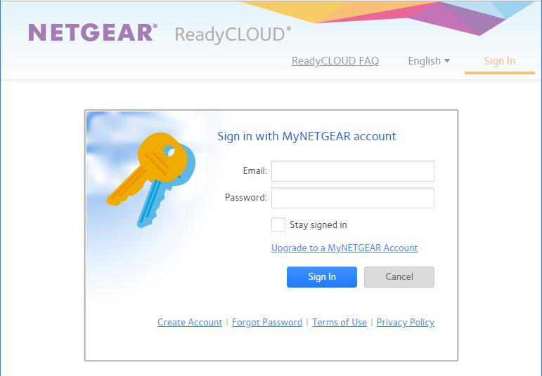 ReadyCloud MyNETGEAR Account Login.PNG