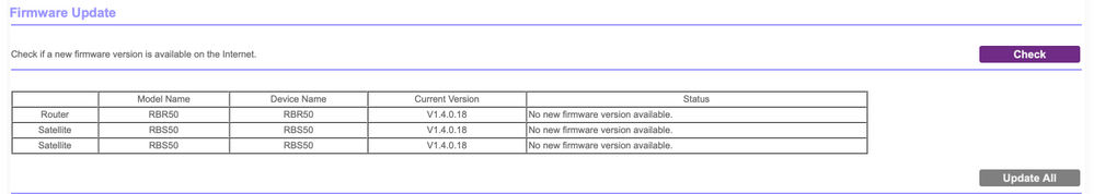 Orbi RBK53 System Firmware Updates - NETGEAR Communities