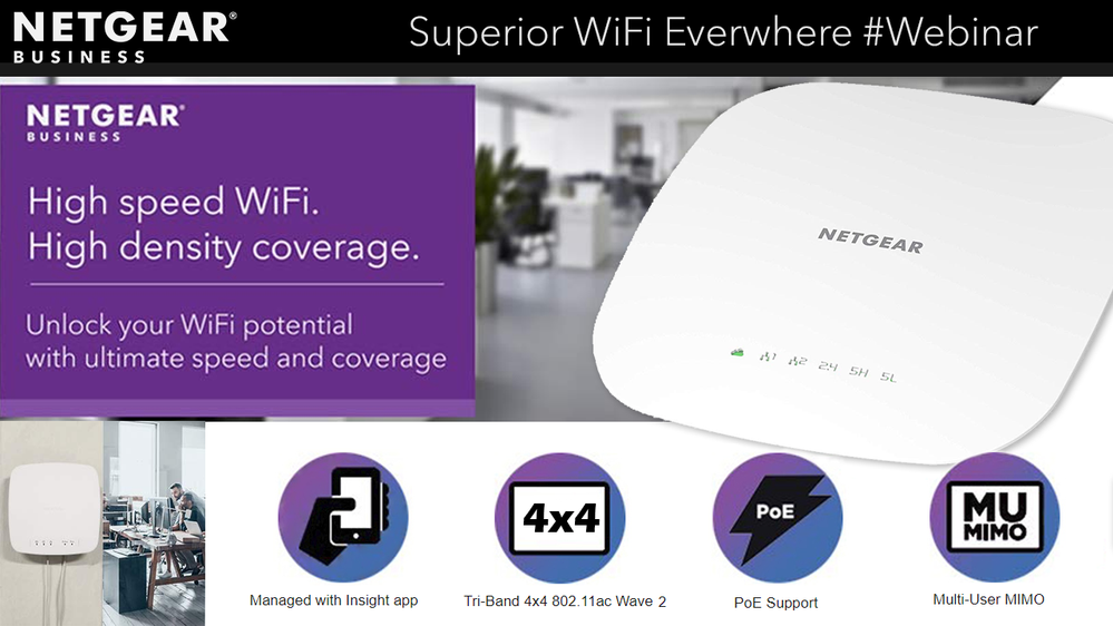 Solved: Superior WiFi Everywhere! WAC540 Tri-band Insight