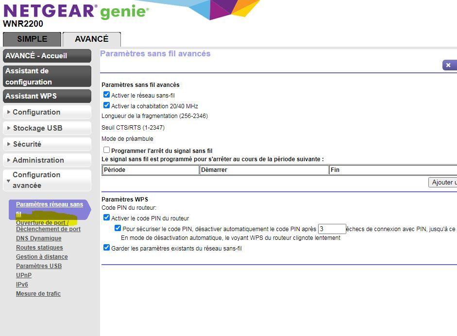 Capture Ecran Netgear.JPG