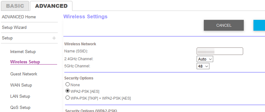 Orbi one SSID both band.png