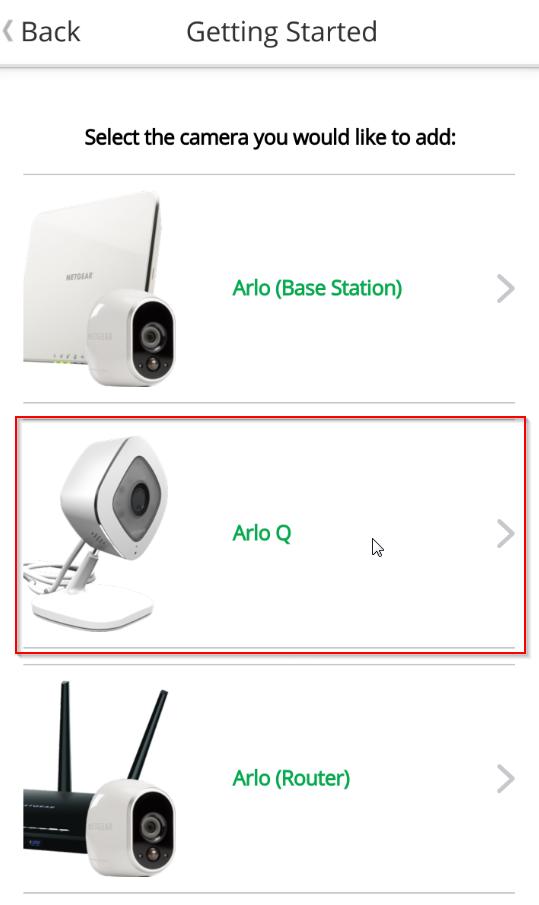 wie richte ich arlo q unter android ein answer arlo support. Black Bedroom Furniture Sets. Home Design Ideas