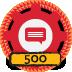500 Topics Created