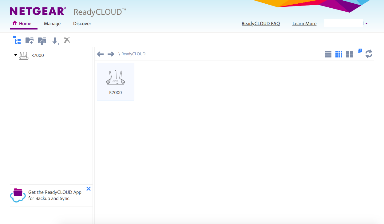 ReadyCLOUD not showing any attached drives - NETGEAR
