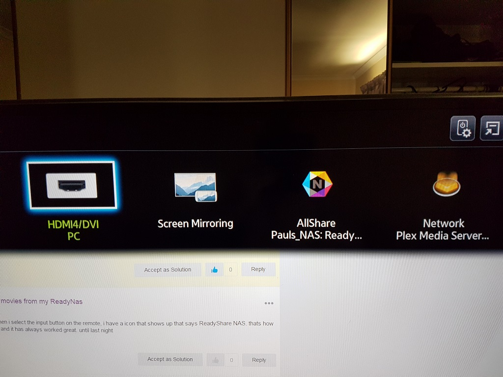 Smart Tv has stopped playing movies from my ReadyN    - Page 2