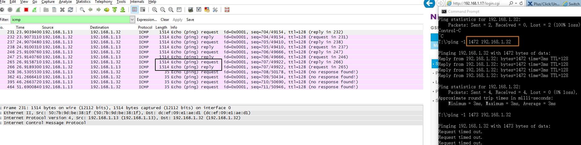 Solved: XS708Ev2: packet drop over 1473 - NETGEAR Communities