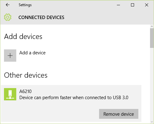 Solved: Windows 10 (A6100 A6200 A6210) Installation Heads