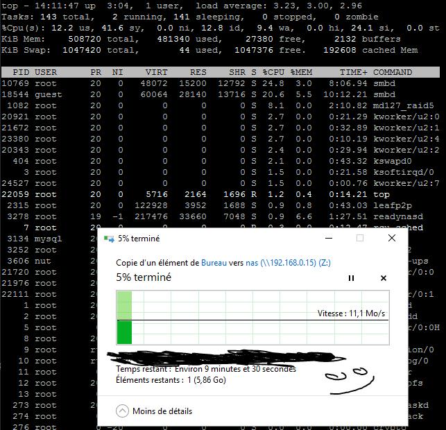 Solved: Readynas 104 - Slow transfer speeds - NETGEAR