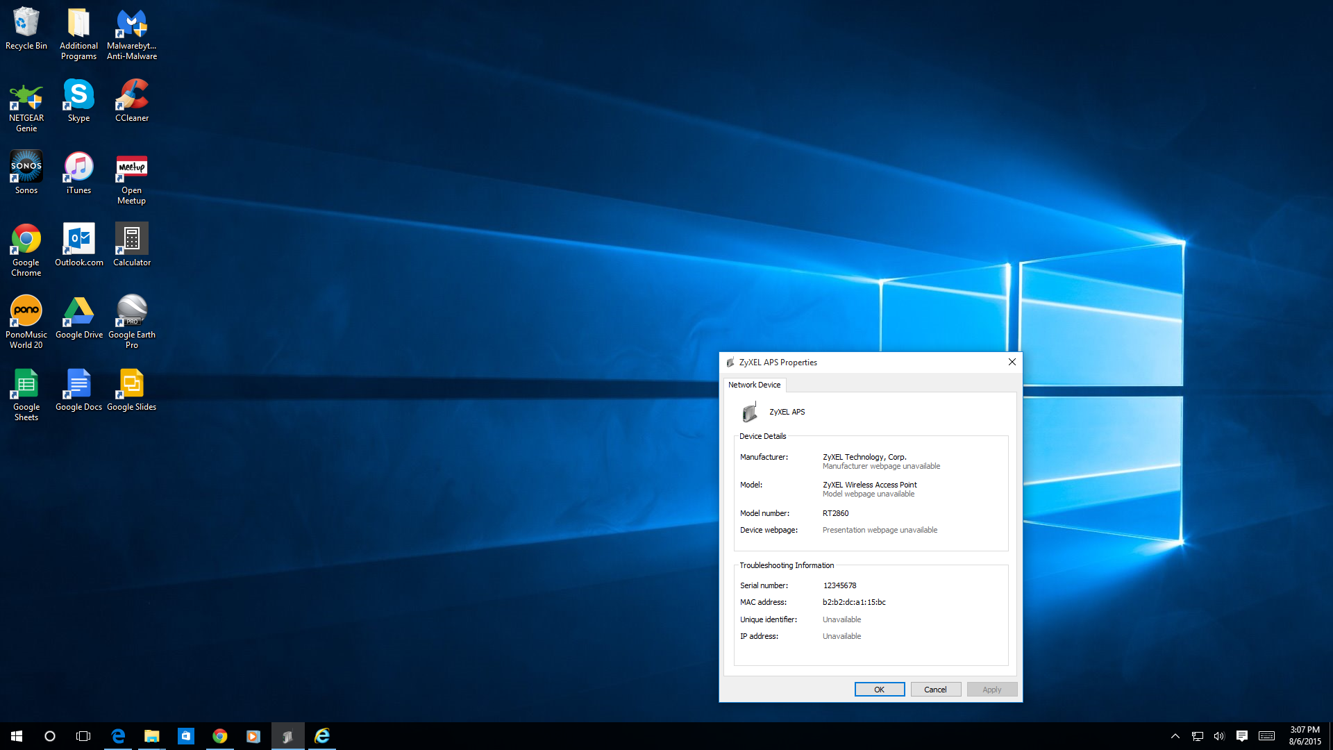 ralink wireless lan driver and application windows 10