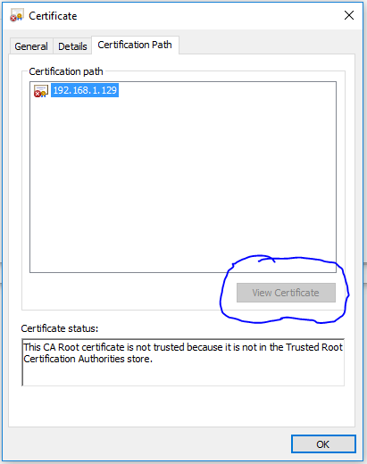 Solved: Edge Browser Certificate Error - NETGEAR Communities