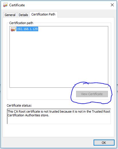 Solved: Edge Browser Certificate Error - NETGEAR Communities