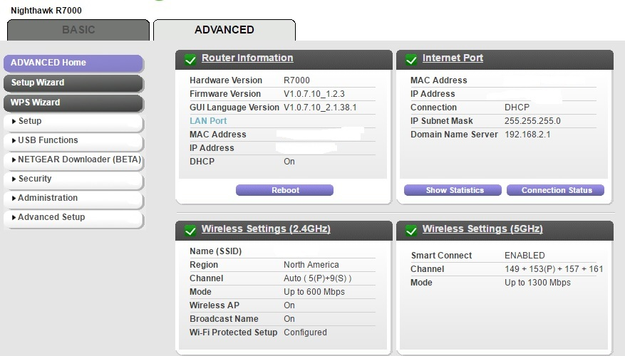 how to change settings on my netgear router