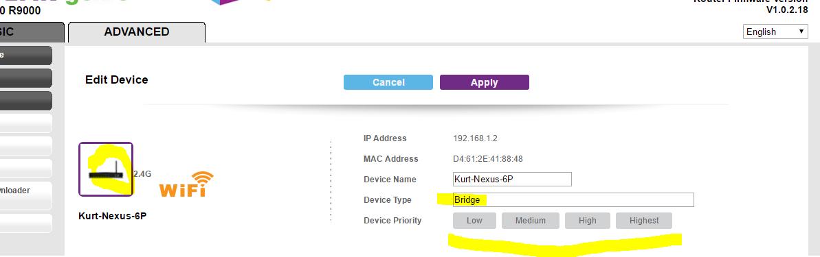 R9000 Beta Firmware 1 0 2 18 - QoS Controls in Gen