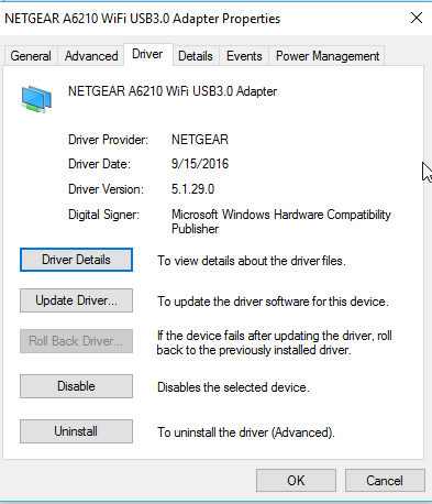 New 1 0 0 36 A6210 driver! - NETGEAR Communities