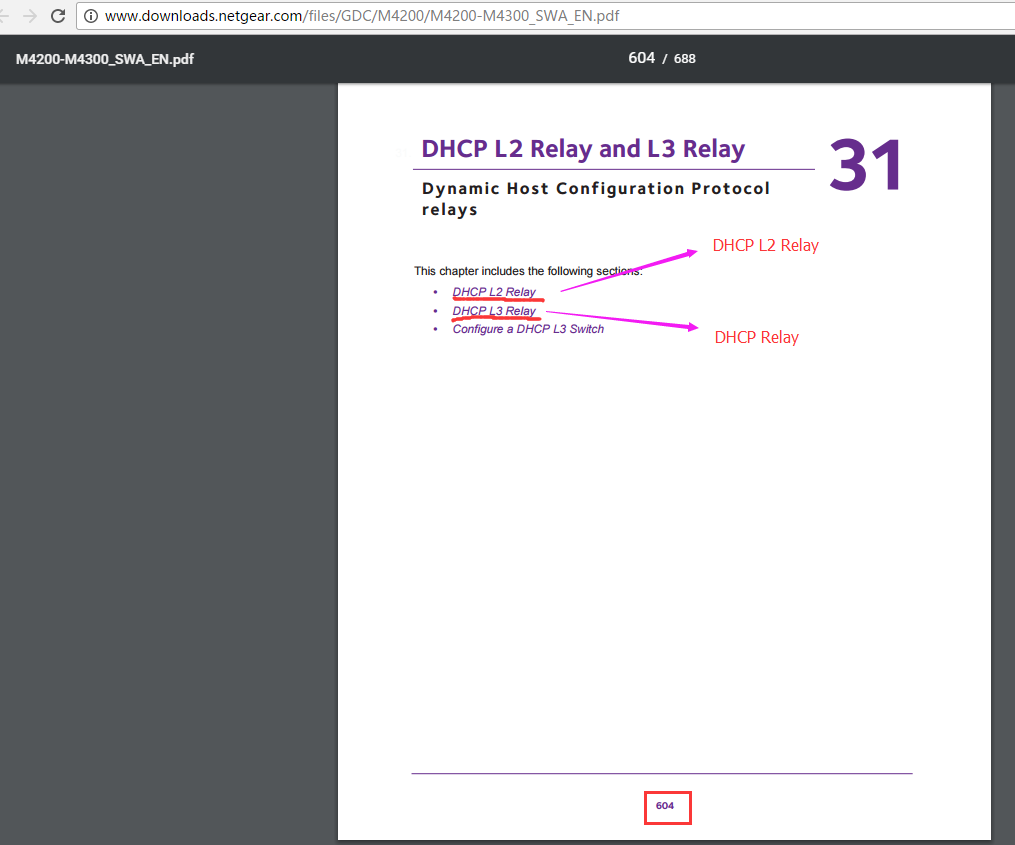 Dhcp Relay Missing Destination Server Field Netgear Communities Basic Concept Of Pdf