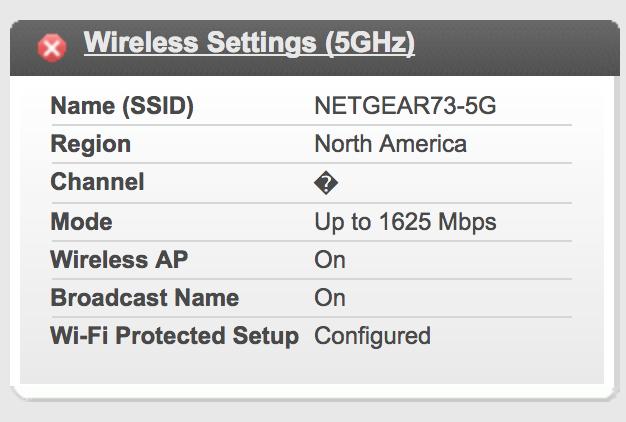 R7000P 5ghz channel broken? - NETGEAR Communities