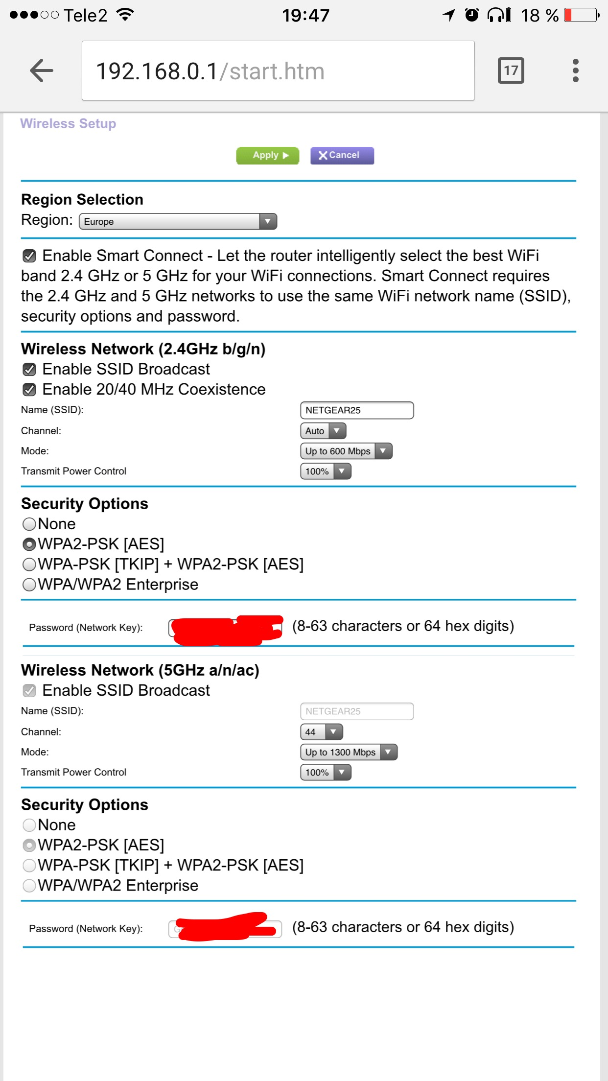 Slow wireless download speed AC1900 r7000 nighthaw    - Page