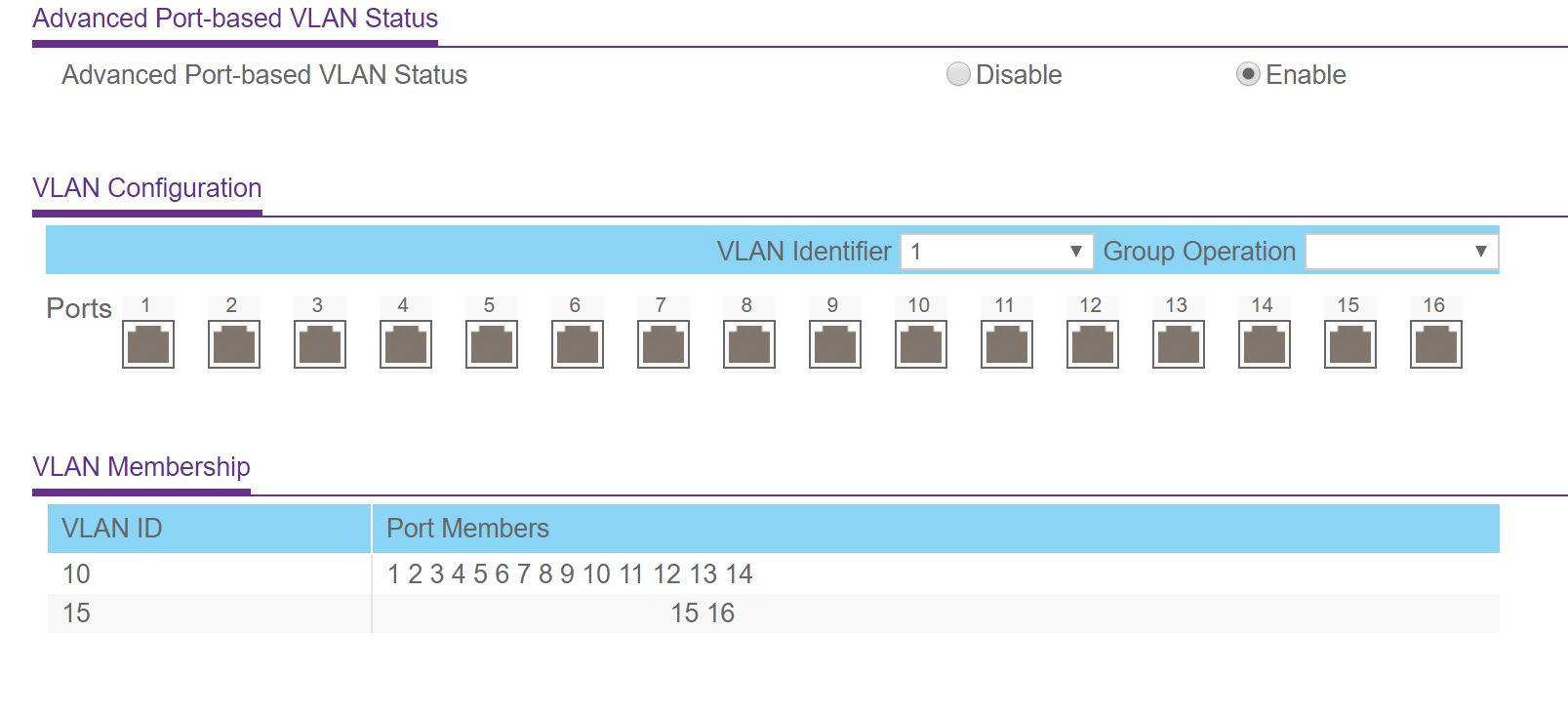 Port Based VLANs not isolated? - NETGEAR Communities