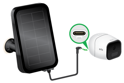 How Do I Set Up The Arlo Solar Panel To Power My Arlo Pro