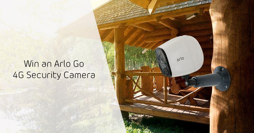 Arlo Go HD Security Camera Giveaway
