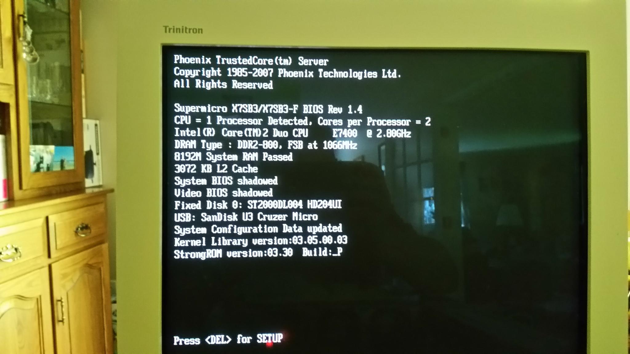 Solved: ReadyNAS 3200 RN12P Firmware / BIOS Reinstallation - NETGEAR