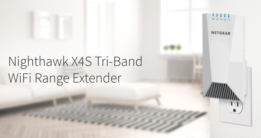 X4S Wall Plug - Extend Wifi Coverage to Every Corner of Your Home