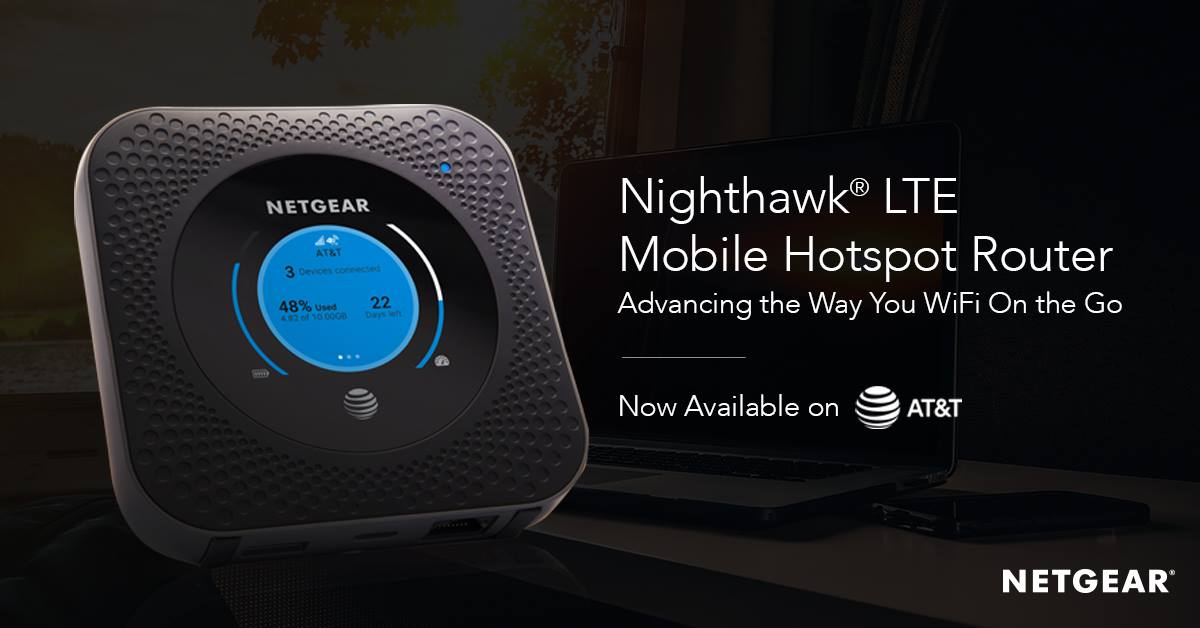 Nighthawk Lte Mobile Hotspot Router Gigabit Wifi