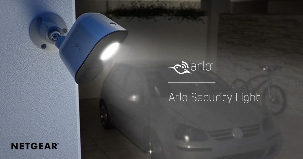 Arlo Security Light - Coming Spring 2018: