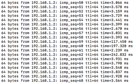Re: Ping latency spikes on Mac OS with Orbi -- wha