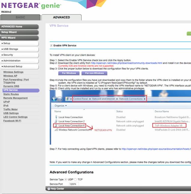 Solved: OpenVPN with iOS - NETGEAR Communities