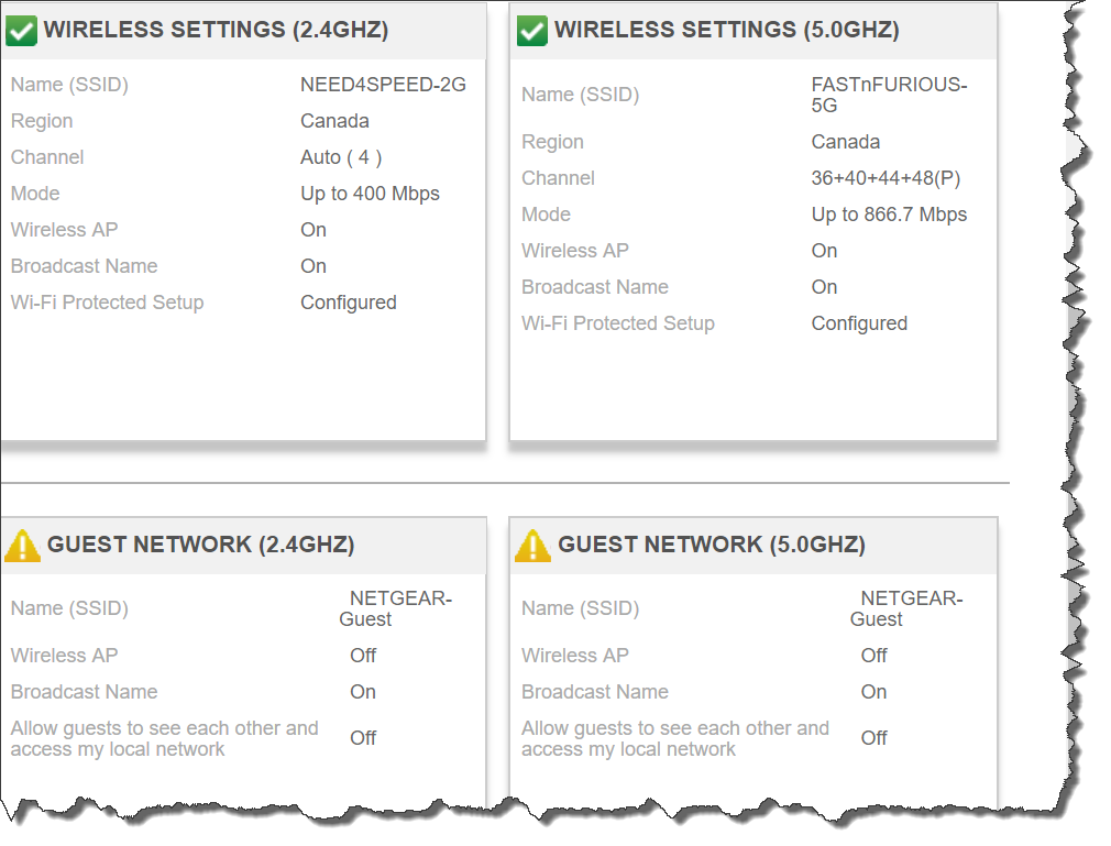 How to set a separate SSID for the 5 GHz network o    - Page